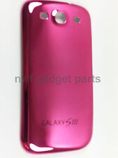 New S3 (PINK) Chrome  Battery Back  Cover Case Housing For Galaxy S3 i9300 -US