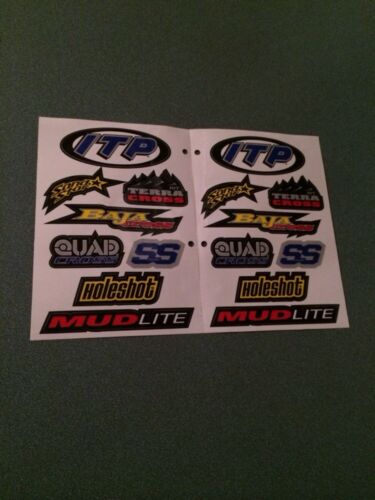 ITP Wheels Sticker Set