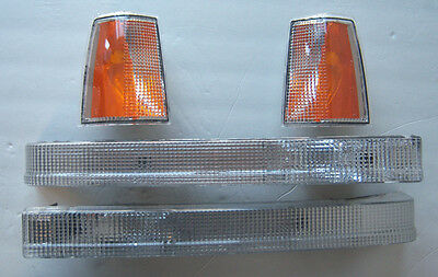 VOLVO 7401983-89 760 1985-86 TURN SIGNAL PARKING LIGHT SET OF 4 NEW