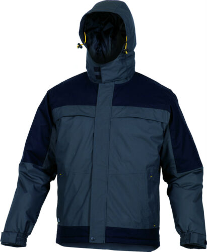 Delta Plus Panoply Torez Grey Black Mens Parka Jacket Rain Coat BNWT