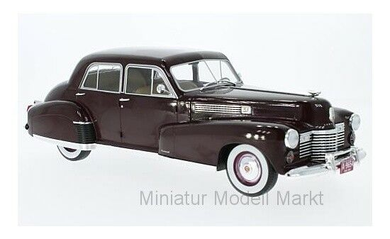 MCG Cadillac Fleetwood Series 60 SPECIAL SEDAN-DARK RED - 1941 - 1 18