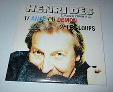 Henri des - ange ou démon - cd promo 2 titres 1999