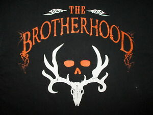 Bone Collector Brotherhood No Excuses T Shirt Hunter Hunting Tv Show Medium 817785014296 Ebay