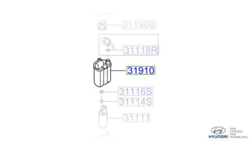 319102H000 Genuine Hyundai i20 Fuel Filter