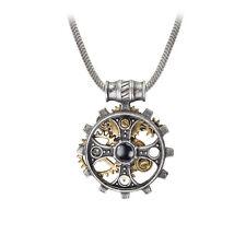 GENUINE Alchemy Gothic Steampunk Pendant - Foundryman's Ring Cross | Men's