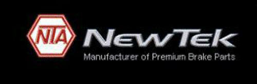 Disc Brake Pad Set-Galaxy Ceramic Disc Pads Front NewTek SCD1211