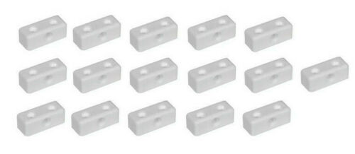 16 x Modesty Blocks 35mm x 13mm Mod Block Kitchen Cabinet Connnector Joints