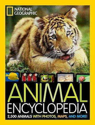 National Geographic Animal Encyclopedia: 2,500 Animals with Photo...