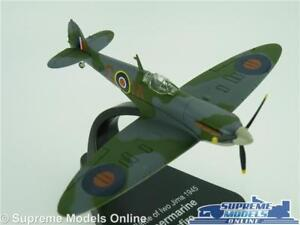 Atlas Supermarine Spitfire Mk Vb 1941 échelle 1:72 Diecast Modèle réduit d/'avion /& Stand