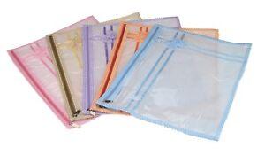 Image is loading NEW-SAREE-BAGS-SINGLE-SAREE-COVER-SATIN-CLOTHES-  sc 1 st  eBay & NEW SAREE BAGS SINGLE SAREE COVER SATIN CLOTHES GARMENT SARI STORAGE ...