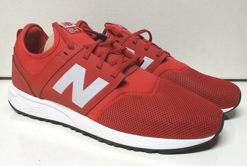 New Balance 247 Size 13 Red White Mens Running shoes Sneaker MRL247RW