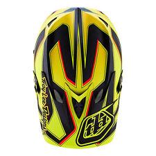 Troy Lee Designs D3 Full Carbon Reflex Yellow TLD XL X-Large Helmet MTB Downhill