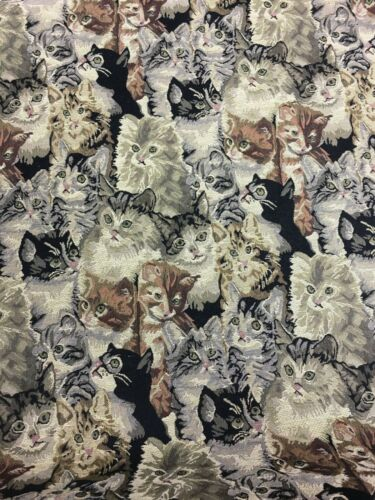 FAMOUS HERITAGE CAT Tapestry Upholstery Fabric 100/% Cotton per Meter