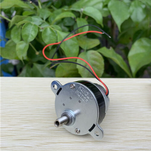DC3V 5V 6V 33RPM Low Speed Mini 300 Full Metal Gearbox Gear Motor Threaded Shaft