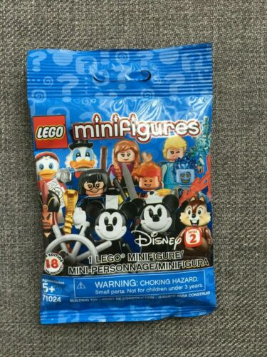 Slit Verified LEGO 71024 NEW! Dewey DuckTales Disney Minifigures