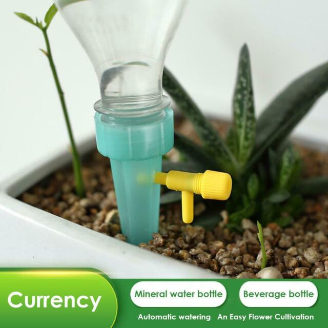 8pcs Drip Automatic Spike Waterer Tender Houseplant Plant Self-Watering System