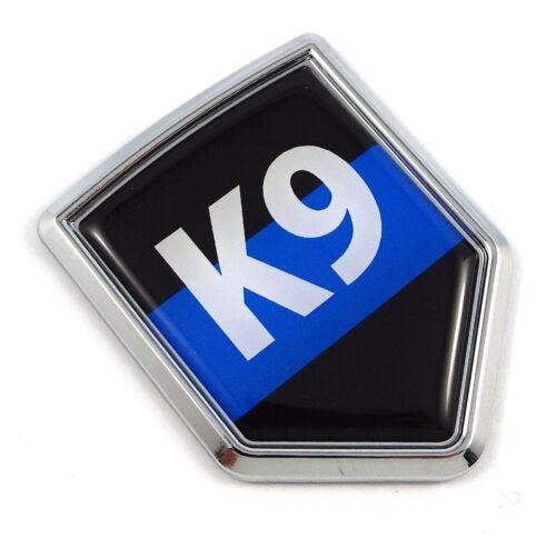 Police K9 blue line flag Car Auto Emblem 3D Decal Bumper badge Sticker