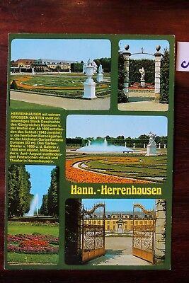 FäHig Postkarte Ansichtskarte Niedersachsen Hann- Herrenhausen Elegant Im Geruch