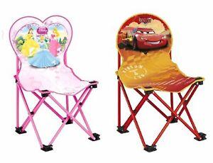 Disney-Kinder-Klappstuhl-Kinderstuhl-Princess-Cars-Campingstuhl-Stuhl-Sessel