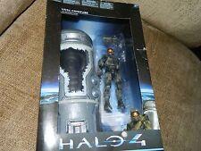 """Halo 4 UNSC cryotube con Master Chief Series 1 NUOVO CON SCATOLA """"MOLTO RARO"""" venditore del Regno Unito"""