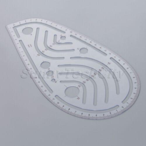 1Pc//8Pcs à coudre couture french Curve Metric Ruler Multi-style de mesure