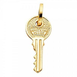 14k yellow gold key pendant gjpt1712 ebay image is loading 14k yellow gold key pendant gjpt1712 aloadofball Gallery