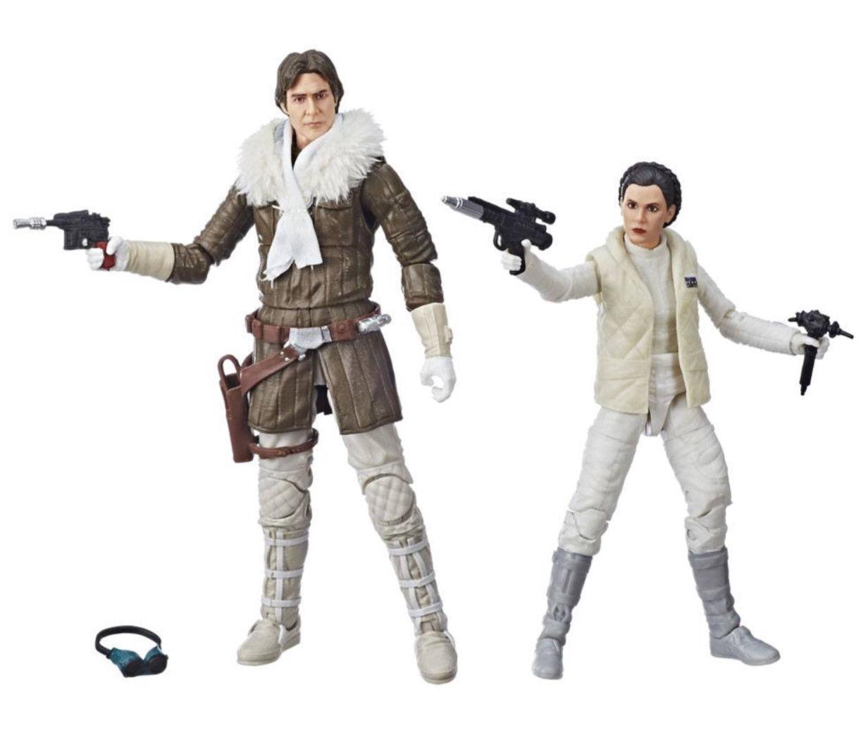STAR Wars Wars Wars Nero Serie Han & LEIA Hoth MCM esclusivo e3866b