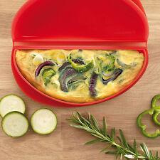 Lékué Silicone Microwave Egg Omelette Maker Cooker Foldover Mould Breakfast