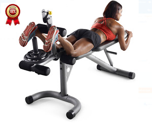 Home Gym Exercise Equipment Lifting Weight Bench Muscle