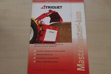 158997) Trioliet Masterbuster Masterkam Prospekt 200?