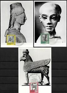 GDR-Mk-Maximum-Card-Minr-742-To-744-Antique-Kunstschatze-1959
