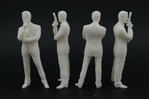 James Bond Figur für 1:18 Kyosho BMW Pierce Brosnan