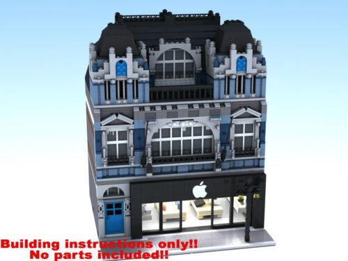 10182 10185 10211 10218 10232 LEGO Apple Reseller Modular Building Instructions