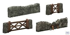 44-580 Scenecraft OO Gauge Dry STe Walling and Gate