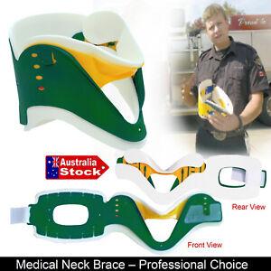 NECK-COLLAR-SUPPORT-BRACE-CERVICAL-FRACTURE-HEALS-AID-ADJUSTABLE-SOFT-FOAM-BACK
