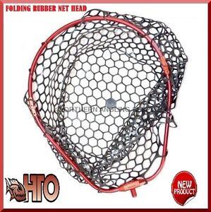 TRONIX-PRO-HTO-FOLDING-RUBBER-MESH-LANDING-NET-HEAD-FOR-SEA-GAME-LRF-ROD-FISHING