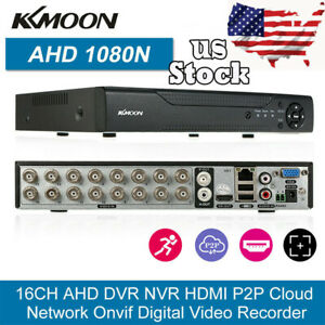 Details about 16CH AHD 1080N CCTV CAMERA VIDEO RECORDER CLOUD DVR NVR HVR  HOME SECURITY US