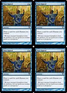 4x-MASS-APPEAL-Avacyn-Restored-MTG-Blue-Sorcery-Unc-Human