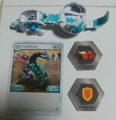 BAKUGAN Battle Brawlers Planet HAOS NILLIOUS ULTRA B400 2 BAKUCORES /& CARDS