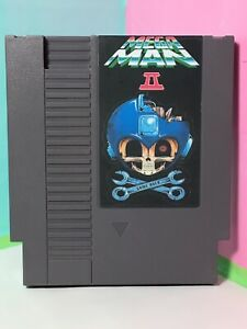 Mega-Man-2-Nintendo-Entertainment-System-Authentic-Board-With-Custom-Label