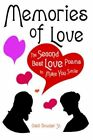 Memories of Love The Second Best Love Poems to Make You Smile 9781425945909
