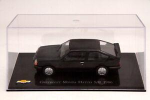IXO-Altaya-escala-1-43-De-Chevrolet-Monza-escotilla-S-R-1986-Modelos-Juguetes-DIECAST-COCHES