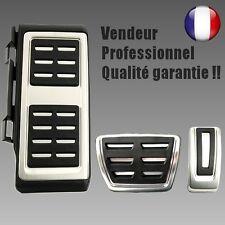 Pédalier boite auto DSG + Repose pied >> Golf 7 A3 Leon Octavia (VII pédale alu)