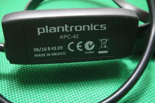 Plantronics APC-42 EHS Hookswitch Hook Switch Adapter Cable for Cisco Phones