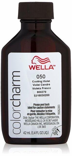 Wella Color Charm - Liquid Creme Haircolor - #50 Cooling Violet