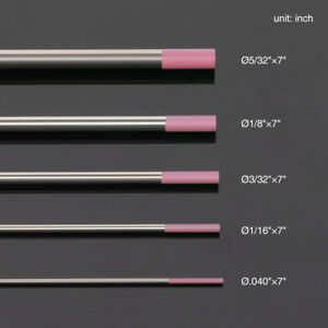10 TIG Weld Tungsten Electrode NonRadioactive 1//16-3//32 Comparable to E3 Purple
