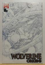 WOLVERINE ORIGINS #7 - Joe Quesada Black and White Sketch Variant 2006 VF **