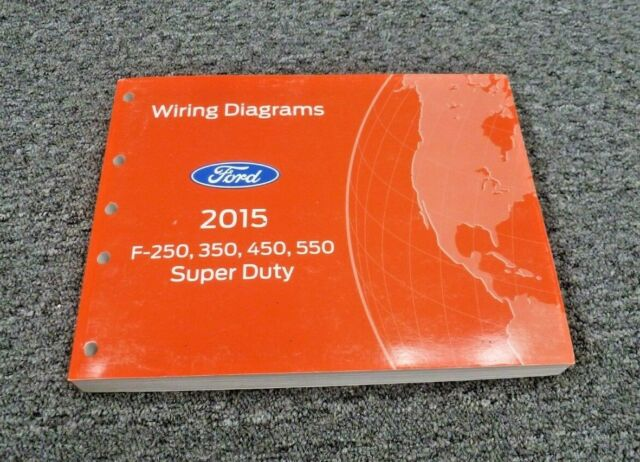 2015 Ford F550 Truck Electrical Wiring Diagrams Manual Xl