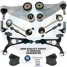 For Alfa 147 156 GT Front suspension upper lower wishbones arms tie ends kit OEQ