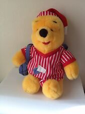 Vintage Winnie the Pooh Plush Stuffed Animal Sleepover Pajamas Pillow 98 Mattel